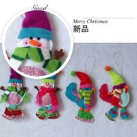 Wholesale ing small amount of cash to the second paragraph the second paragraph bird snowman tree decorations Christmas items
