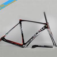 carbon fiber bicycle frame - Competitive Road Bike Frames C Carbon Fiber Bicycle Frames for Men BSA BB30 Bottom Bracket K UD Finish New Arrivals YF