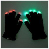 Wholesale Hot LED Gloves Fashing Gloves LED Light Up Rave Glove Glow Light Glow Finger Gloves party
