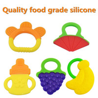 baby teeth molars - Hotsale Glister Baby Kid Infant Safety Teeth Stick Teethers Rear Molar Silicone Great food silicone Baby Teethers
