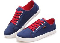 Wholesale size in the summer of the new men s shoes low permeability for canvas shoes leisure sports shoes