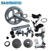 Wholesale 2015 SHIMANO Original Road Bike Groupset x11 speed T mm Silver