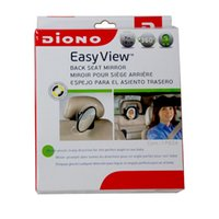 Wholesale Car Interior Mirrors Easy view convex mirror monitor safety seat Shaving Mirror TV Hot Baby Mirror in car