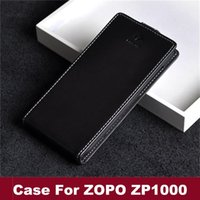 Cheap In Stock ! Free Shippinfg Up and Down Cover Case For ZOPO ZP1000 PU Leather Case ZP1000 Case For ZOPO Smart Phone