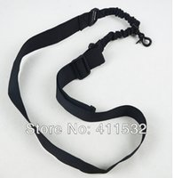 Wholesale 1 Point Nylon Tactical Rifle Pistol Gun Sling CQB Bungee Snap Hook carry belt