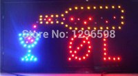 business open sign - 2014 Special Offer Hot Sale Graphics mm semi outdoor X19 Inch beer bar Business Shop OPEN Led Ultra Bright SIGN