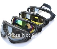 Wholesale Black yellow Transparent multicolor Unisex Adult Riding Motocross Motorcycle Dirt Bike ATV Off Road Goggles Anti Wind Anti sand order lt no