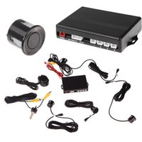 Wholesale Video Car Parking Sensors Reverse Backup Radar System Kit Parking Assistance Sensors V Work with Car DVD Monitor