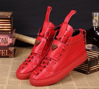 Wholesale Patrick Mohr not level bottom shoes sneakers man of the latest popular real leather shoes