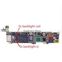 backlight on iphone - 50pcs for iPhone S Backlight Coil Inductor L3 on Motherboard Fix Part order lt no track