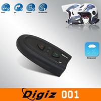 Wholesale Waterproof V1 Motorcycle Bluetooth Headset Intercom With FM Fuction SCYF0472