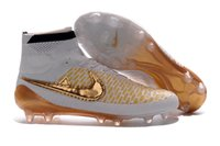 gold spikes - 2016 Soccer Shoes Magista Obra FG with ACC FG White Football Boots Men Botas Futbol Hombre Outdoor Soccer Cleats China