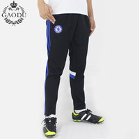 Wholesale Top Quality Classic Stripes Thin Soccer Training Pant Men Joggers Sport Pants Football Trousers Zipper Collect Legs Sweatpants