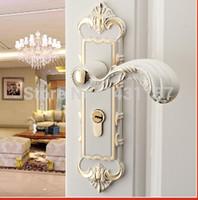 bathroom door locks - high quality Door locks brass lock Interior door bathroom door Building Hardware