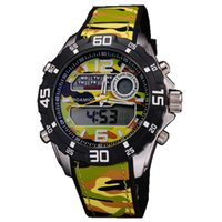 best timing light - The Best Sport Watches Military Form Boamigo European Style Dual Time Zone Led Lights Army Watches Digital Stopwatch Alarm Calendar Mujer
