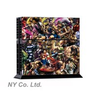 Cheap Anime Cartoon figures Sticker Skin For PS4 PlayStation 4 Console+Free Controller Cover Decal #56