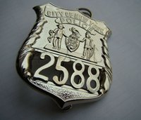 Wholesale The United States of New York NYPD metal badge badge ordinary member No copper