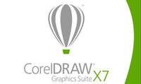 Wholesale Coreldraw X7 Graphic Suit X7 software Bit Full Function Support For Multi Language