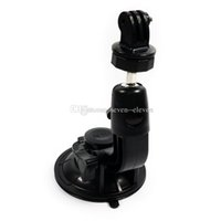 Wholesale GoPro Accessories Car Mount with Suction Cup Inch Tripod Mount Adapter for GoPro Hero Singapore Post