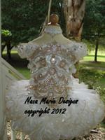 Wholesale 2014 New Arrival Short Sleeve Bateau Juliet Little Girls Pageant Dresses Cupcake Dresses