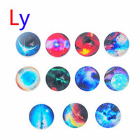 beads suppliers - Newest Star snap button jewelry charm popper for bracelet Zodiac series noosa jewelry making supplier AC068