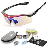 automobile designer - Riding Cycling Eyewear Polarized Men Hunting Automobile Motocross Goggles Designer Sunglasses Men Lenses Fashion Brand