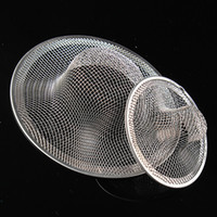 bath sink stopper - Stainless Steel Mesh Sink Strainer Drain Stopper Filter Bath Hair Trap Stopper Two Sides Can Be Choose
