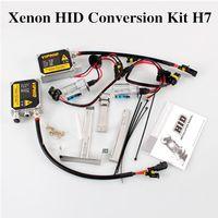 Wholesale Hot set Xenon HID Conversion Kit H7 W K Car LED Bulbs Lights HID Xenon Headlight Conversion Kit