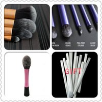 Wholesale Sedona HighQuality Real Techniques pieces set soft hair dense more style Gold makeup brush cosmetic complete kit for make up Professional