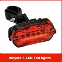 Wholesale NEW Led Bike Light Tail Rear Bicycle Light Bycicle Lamp Red Flash Safety Caution Accessories Lights Velo Luz Bicicleta