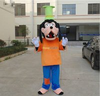 Mascot Costumes Custom Made Animal Fancytrader 2015 Animal Dog Goofy Mascot Costume Fancy Dress, Great Gift For Kids, Free Shipping FT50905