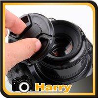 Wholesale mm Snap on Front Lens Cap Cover for Nex NEX5N NEX5C NEX3C NEXC3 F28 With Anti lost Rope