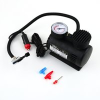 Wholesale Portable V PSI Car Tire Tyre Inflator Pump Mini Compact Compressor Pump Car Bike Tyre Air Inflator New Dropping Shipping