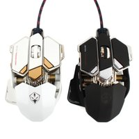 Wholesale LUOM G10 Buttons Colors DPI Hz Adjustable Optical USB Wired Mouse Gamer Professional Macros Gaming Mouse Mice