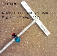 Wholesale 120cm Length T Type Aluminum Alloy Glass Cutter Tool freeshipping