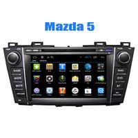 2 joueurs Système de navigation GPS Din Car In Car Dvd CD pour Mazda 5 2009 2010 2011 2012 avec Android Quad Core Radio Bluetooth