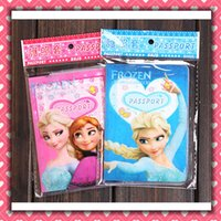 Wholesale 2014 New FROZEN passport holders passport covers Card holders