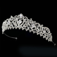 affordable wedding jewelry - Gorgeous Wedding Bridal Tiaras Couture Silver Swarovski Crystal Bridal and Quinceanera Tiara now at Affordable Elegance Bridal hair jewelry