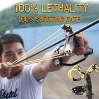 al mg alloy - Odepro Hunting Slingshot Mg Al Alloy Pocket Sling Shot Outdoor Accessories Powerful Catapult Target Shooting Bow For Game