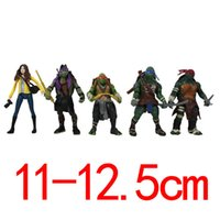 Wholesale Newest Ninja Turtles toys action figure anime figure toys brinquedos High Quality PVC dolls set Best gift for kids