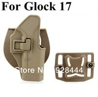 Cheap CQC For GLOCK 17 waist Holster sand color Free Shipping
