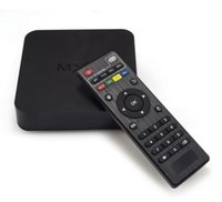 Wholesale Original Online Update MXQ TV BOX Amlogic S805 Quad Core Android Airplay TV Channels Programs Media Player KODI15 Rooted DHL
