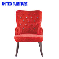 Wholesale HOME furniture The modern popular DINING chair Leisure dining chair ICE VELET and METAL legs chair