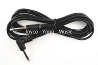Wholesale 10ft Black Guitar Cable Right Angle quot Connetors Instrument Cable