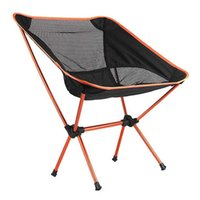 Wholesale Portable Chair Folding Seat Stool Fishing Camping Hiking Garden Beach Orange