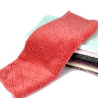 Wholesale 2016 Fen excellent versatility not contaminated with oil cloth dish towel scouring cloth microfiber dishcloth