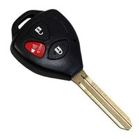 toyota car remote key - car High Quality Buttons Remote Key Shell Case Uncut Blade Blank Fob for Toyota Scion