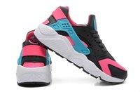 Wholesale 2015 Running Shoes Air Huarache Women casual shoes Women Sneakers Breathable Original Box Running Shoes Huaraches With the Shoes box