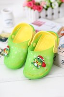 Wholesale Baby toddler shoes soft bottom in summer children years old baby shoes baby shoes slip sandals garden shoes