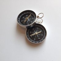 Wholesale Aluminum Camping Traval Mini Compass Hiking Navigation mm Diameter Hot M